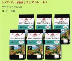 グアテマラブレンドコーヒー6袋