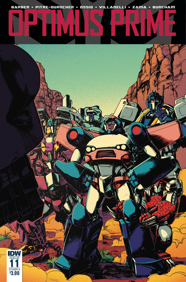 Optimus Prime #11 Cover Color