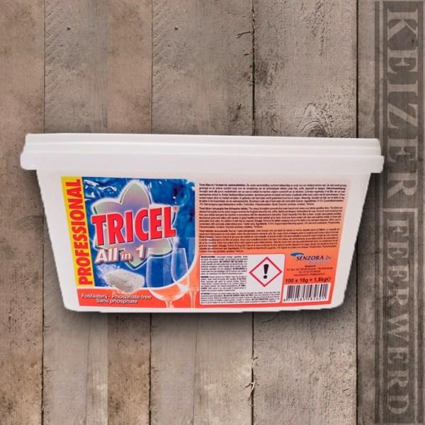 Keizer Feerwerd - Tricel Reiniginstabletten