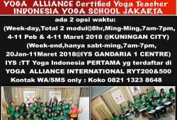 Yoga Teacher Training IYSRYT200 KAPHA & HATHA YOGA TEACHER TRAINING