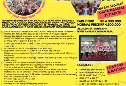 Teacher Training Yoga Kids di SAMBENG,LAMONGAN