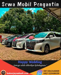 Sewa Mobil Wedding Jakarta Barat