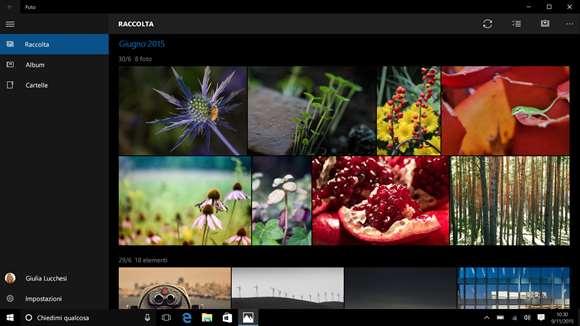 Microsoft Foto si aggiorna su Windows 10