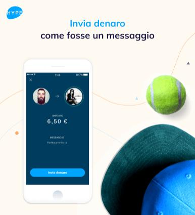 Invia denaro come messaggio