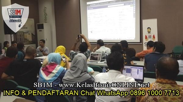 Seminar Workshop Bisnis Online SB1M di Jakarta