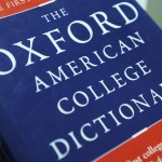 "View of the Oxford American College dictionary taken in Washington on November 16, 2009. The New Oxford American Dictionary named ""unfriend"" -- as in deleting someone as a friend on a social network such as Facebook -- its word of the year on Monday. Oxford University Press USA, in a blog post, said ""unfriend,"" a verb, had bested netbook, sexting, paywall, birther and death panel for the honor. ""Unfriend has real lex-appeal,"" said Christine Lindberg, senior lexicographer for Oxford?s US dictionary program.         AFP PHOTO/Nicholas KAMM (Photo credit should read NICHOLAS KAMM/AFP/Getty Images)"