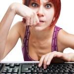 Angry-woman-computer