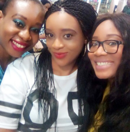 Sisters! At the airport heading to Arochukwu