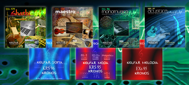 Korg Kronos Sound Libraries