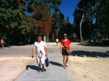 Madrido parke sutikom Kim Jong Un'ą