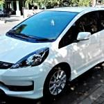 Gambar Mobil Honda Jazz Terbaru Warna Putih Pelekmodif