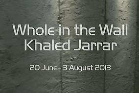 Khaled Jarrar, 'Whole in the Wall' exhibition at Ayyam Gallery, New Bond Street, London. Image courtesy Ayyam Gallery.