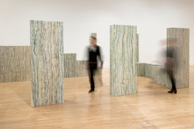 Lucy McKenzie, 'Loos House', 2013, installation, in 'Painting Now' at Tate Britain, London. Image courtesy londonist.com