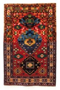 Faig Ahmed, 'Tradition in Pixels', 2011, woollen hand-woven carpet.