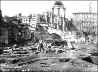 Esther Boise Van Deman, 'Roman Forum: excavations at the Atrium Vestae', 1909, photography, in 'My Sister Who Travels' at Mosaic Rooms, London. Image courtesy imagoromae.com