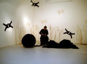 Despina Olbrich-Marianou, 'Tales', 2004, installation and performance. Image courtesy the artist.
