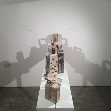 Ranjena Gohil, 'Ghar', 2015, ceramics, in 'Jerusalem/Home' at P21 Gallery, London. Image courtesy the artist and P21 Gallery. Photo credit Kelise Franclemont.