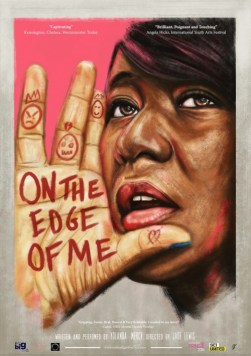 Yolanda Mercy, 'On the edge of me' at The Cat's Back, Wandsworth Arts Fringe, 2016. Image courtesy the artist WandsworthFringe.com. More: http://wandsworthfringe.com/2016/event/on-the-edge-of-me