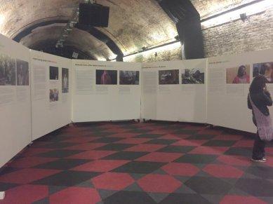 Sponsored by International Alert, 'Create Syria - the future constellation', at House of Vans London, Waterloo. Photo credit: Kelise Franclemont.