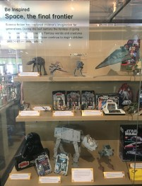 Star Wars action figures, 1970s-1980s, V&A Museum of Childhood, London. Photo credit Kelise Franclemont.
