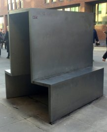 Anthony Caro, 'HSBC Gates', 2000, stainless steel, made in collaboration with architect Norman Foster, Queen Victoria Street, leading to the Millennium Bridge, EC4, London. Photo credit Kelise Franclemont.
