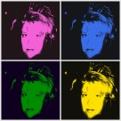 6 June 2017 Me as Andy Warhol 1986 #365LoveNotesToSelf Day 113, digital photographs (series)