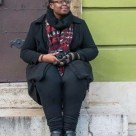 "Khadija Saye with her camera (Photo credit: Lauren Frame). 21 June 2017 #365LoveNotesToSelf Day 122, tribute. A friend of mine suggested artist Khadija Saye as one that I might emulate for my #365LoveNotesToSelf self-portrait project. But I can not, not today, not tomorrow, not in a year. I just can't. And I can never presume to copy, emulate, or borrow anything other than inspiration from this artist who had so much to give before her life was cruelly taken. The only way to honour her now is to share her work with others, and thus is today's ""Love Note to Self"", an ardent reminder to all of us: be true to yourself, trust your calling, find courage and determination, and never give up on your goals. I urge you to learn more about Khadija Saye and see her work on : http://www.sayephotography.co.uk/"