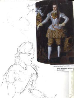 Kelise Franclemont, 'Vlad', study from London Shakespeare Workout, 15 December 2017, at HMP Pentonville, London.