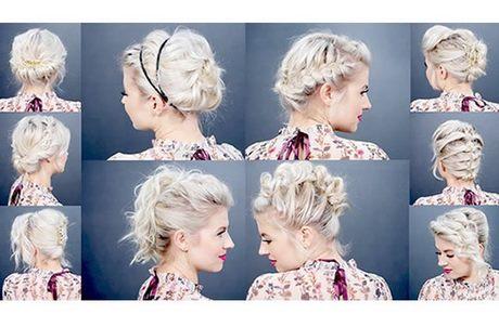Coiffure Cheveux Carr Attach