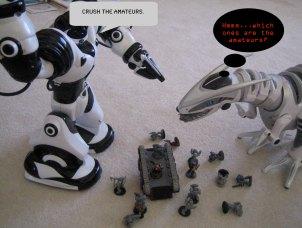 Robosapien & Roboraptor Professional Smackdown