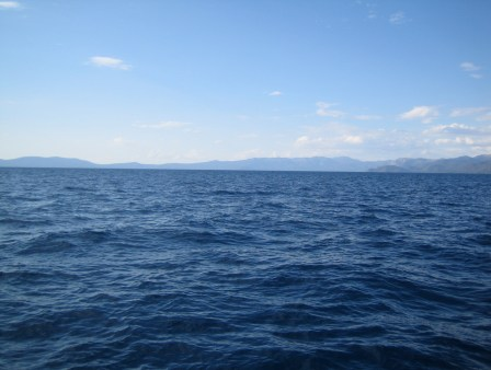 Tahoe is Blue