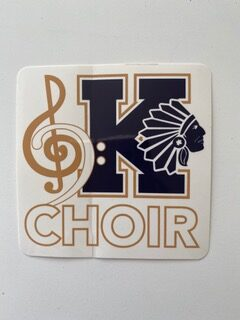 KHS Choir Decal