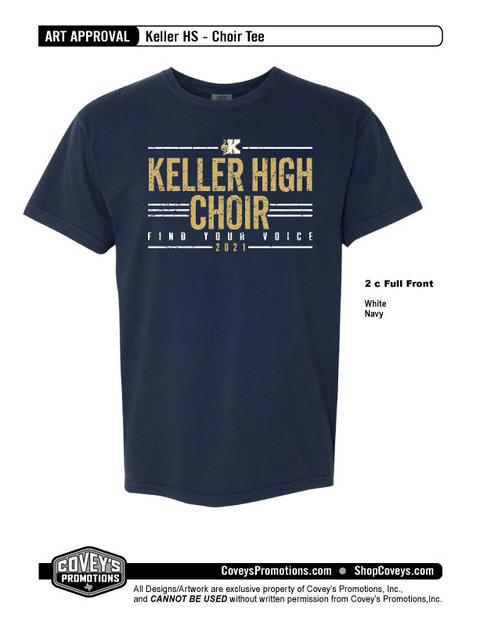 KellerHS-Choir-Navy 2020