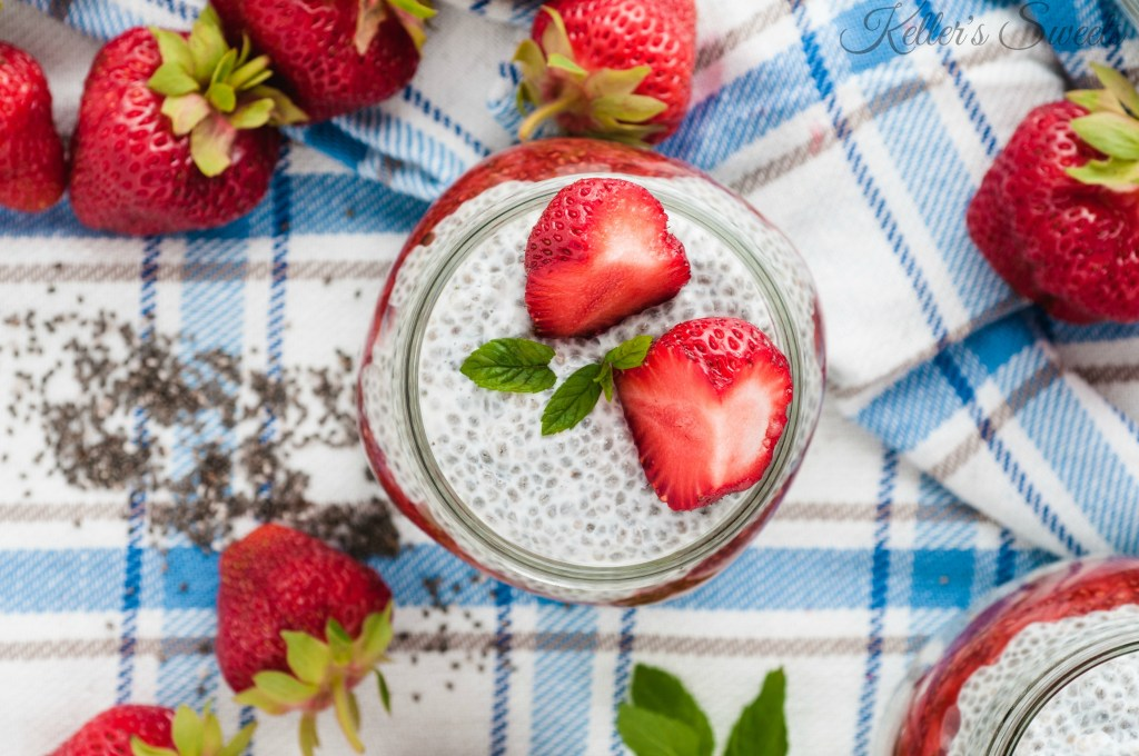 The Best Chia Seed Pudding| Not only is this Chia Seed Pudding healthy for you, but it also tastes AMAZING! I love it when things happen that way, don't you?| https://butterysweet.com/blog/the-best-chia-seed-pudding