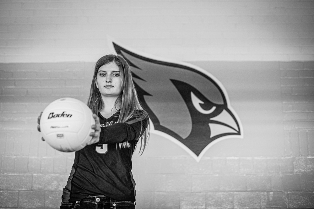 cardinal volleyball senior