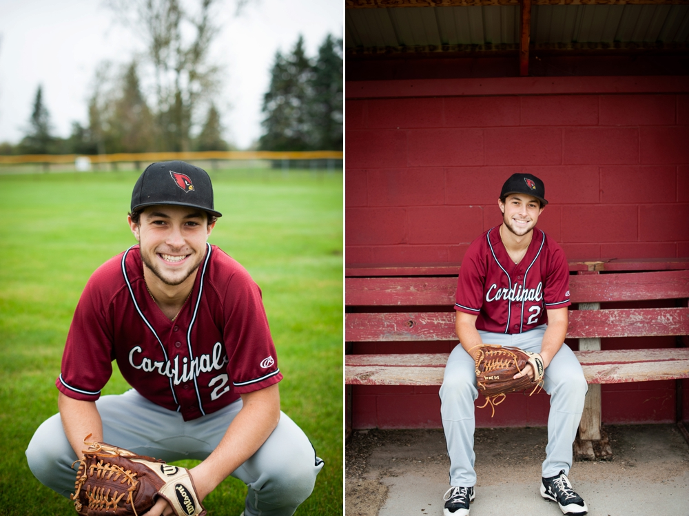 baseball senior photos