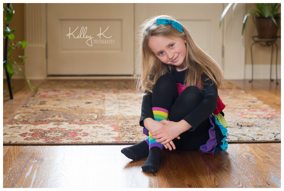 Child portrait with soft backlightint | Kelley K Photography - Smyrna