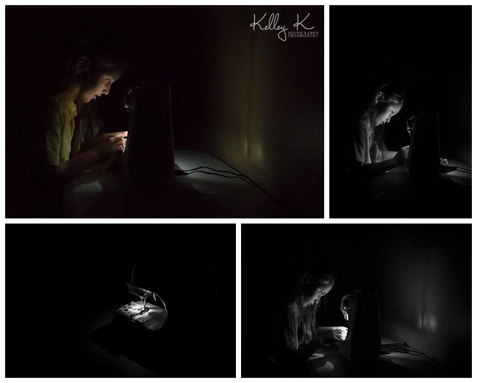 Sewing machine light | Kelley K Photography (Smyrna, GA)