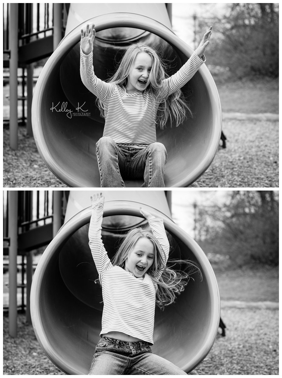 Child on Slide| KelleyKPhotography - Smyrna, GA