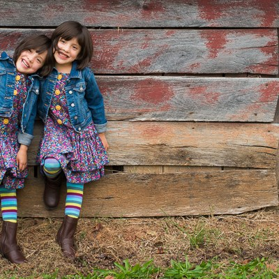 Twin Girls | Kelley K Photography