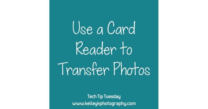 Tech Tip: Use a Card Reader to Transfer Photos