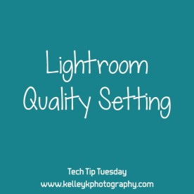 Lightroom Quality Setting