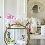 Shop Around The House How To Style A Bar Cart In 10 Minutes Or Less Kelley Nan