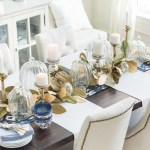 Best Fall Halloween Thanksgiving Table Decorations