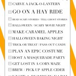 Halloween Bucket List 14 Ideas Halloween Activities For The Family