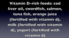 Vitamin D-rich foods