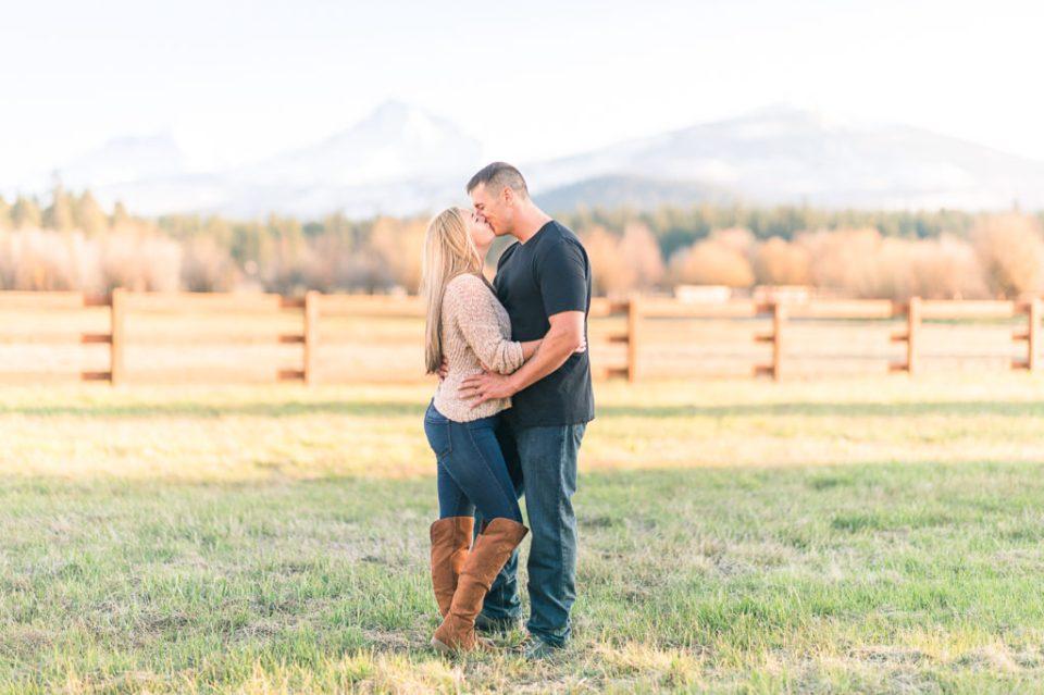 Black Butte Ranch Engagement Photography, Central Oregon