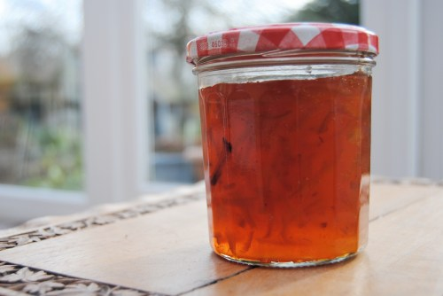 single seville orange marmalade jar