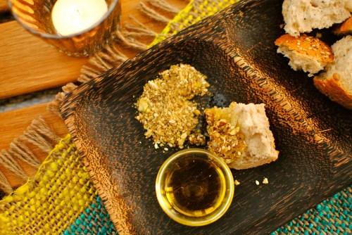 pistachio dukkah