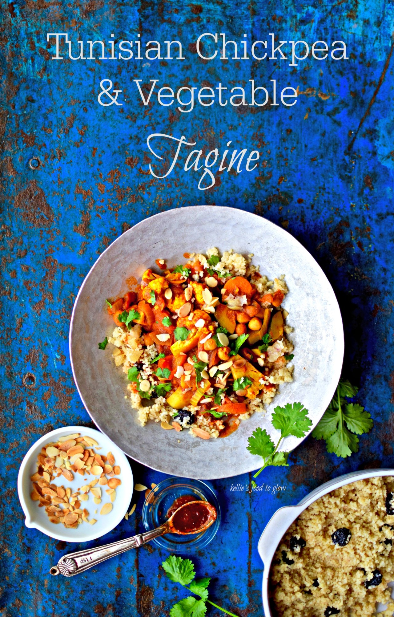 This is an easy, warming vegan stew that is easy to double or halve, gets better as leftovers and freezes well. And as if that weren't enough, this tagine lends itself to using seasonal vegetable so is economical and environmentally friendly, too. In the summer, use more Mediterranean type veg and serve at room temperature. At any time of the year you can speed up the prep by using frozen vegetables. Serve for dinner or lunch with green salad plus couscous, quinoa, baked potato, steamed pitta bread or in wraps. Extra harissa and a few slices of griddled halloumi are great add-ins.